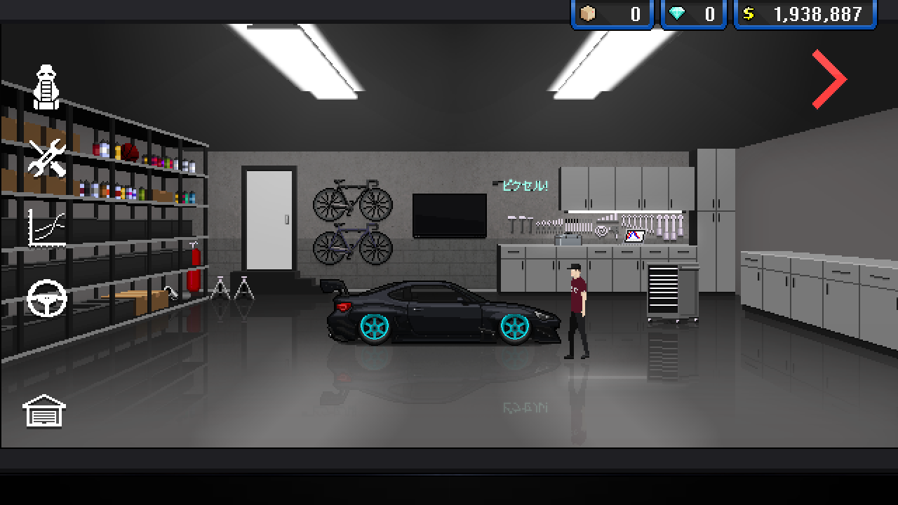Pixel car racer android apps on google play for Garage pixel auto metz