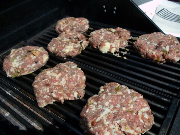 Grill Burgers to desired doneness. Serve on a bakery-style bun topped with the herbed...