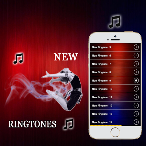 android New Ringtones 2016 Screenshot 8