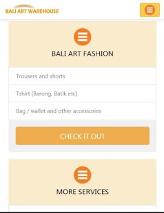 Online Shope Bali Art Warehouse- screenshot thumbnail