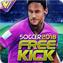 Free Kick 2018 - Mutiplayer Football Game icon