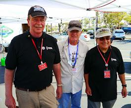 Photo: Bruce (KI6CYT) with Jim Tiemstra (K6JAT) and Bob Vallio (W6RGG).