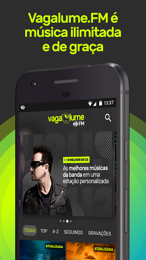 Vagalume FM: o streaming do Vagalume- screenshot