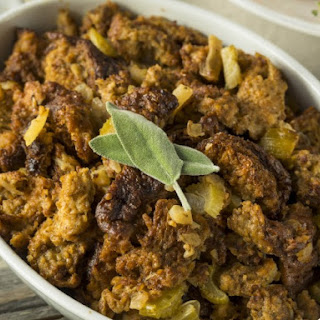 Very Sage Slow Cooker Stuffing.