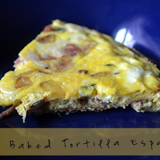Oven Baked Tortilla Española.