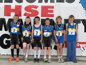 Photo: Tipperary Boys U/12 4 x 100m Relay team from Moycarkey Borris. L to R: David Ryan, Oran Mulhall, Jack Fallon, Jack Ryan, Rhys Shelly & Sean Mockler
