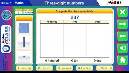 MiDas eCLASS Maths 2 Demo screenshot 6