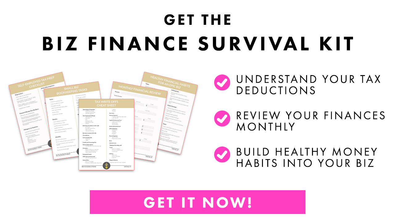 Get the Biz Finance Survival Kit