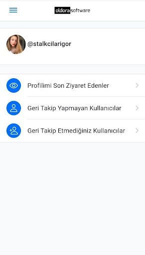 Reports profilime kim baktı screenshot 2