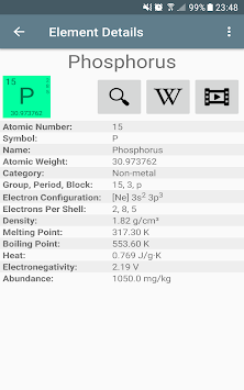 Download periodic table of elements pro apk latest version app for periodic table of elements pro poster urtaz Images