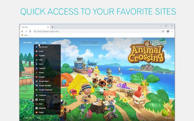 Animal Crossing Wallpaper HD Animal Crossing New Tab