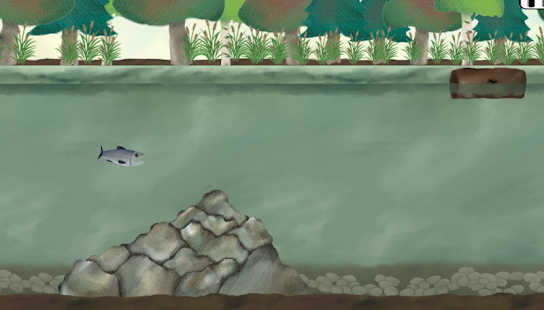 Super Salmon Migration Demo- screenshot thumbnail