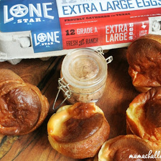 Popovers with Strawberry Jalapeno Butter