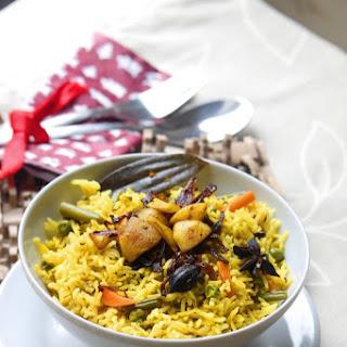 Vegetable Biryani #rice.