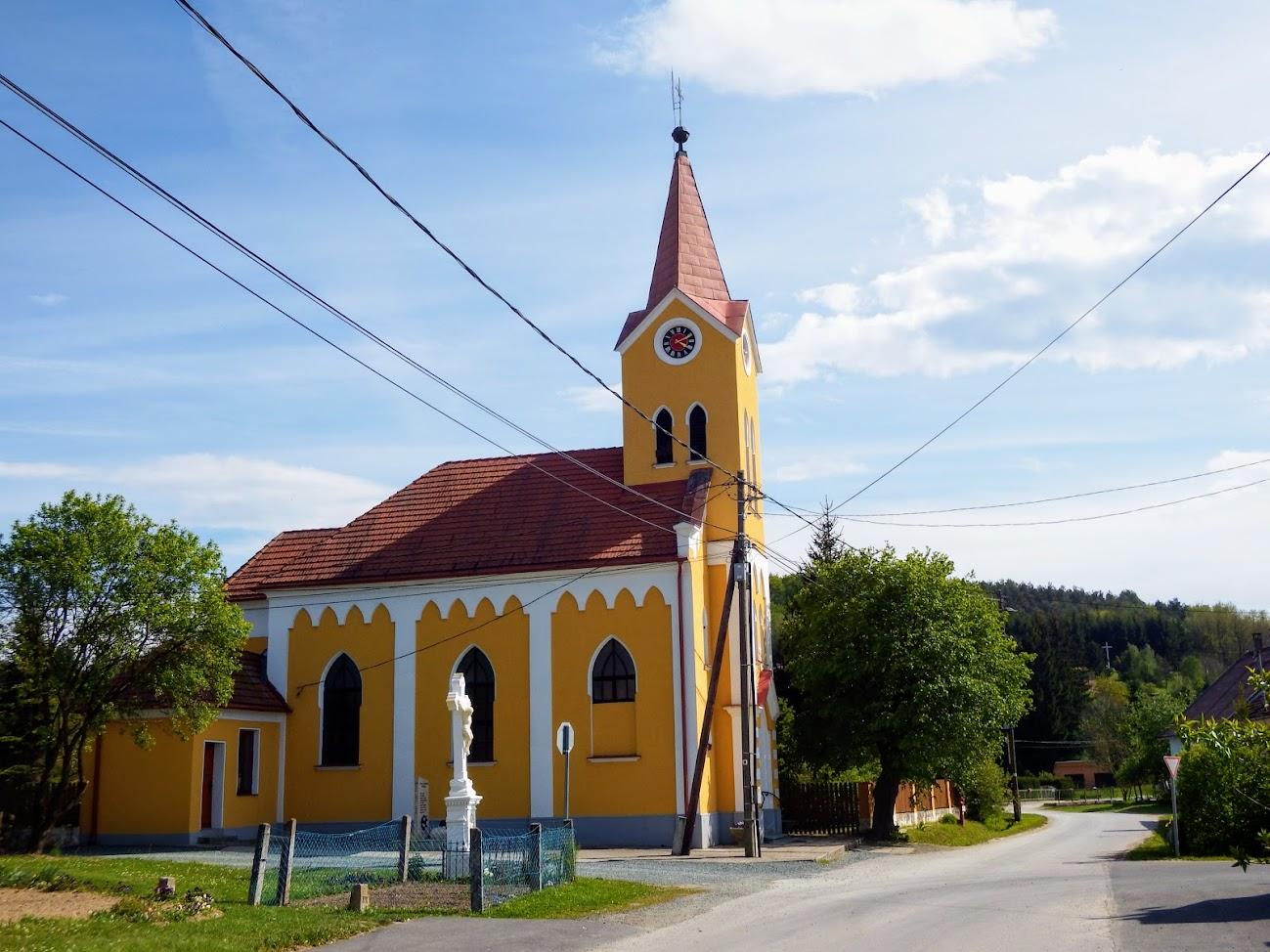 Szakonyfalu - Sarlós Boldogasszony rk. templom