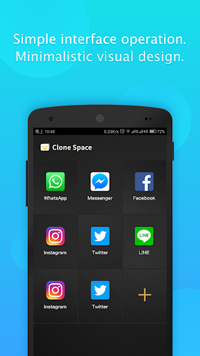Clone Space -  Accounts 2 & dual WhatsApp 3.2.1 screenshots 1