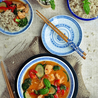 Thai Red Curry Chicken Broccoli Recipes