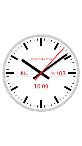Swiss Analog Clock-7 ApkUpdate 1