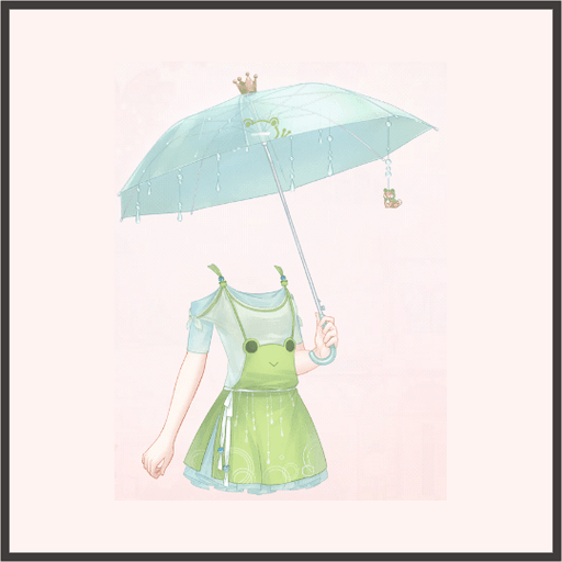 カエルのミニスカート