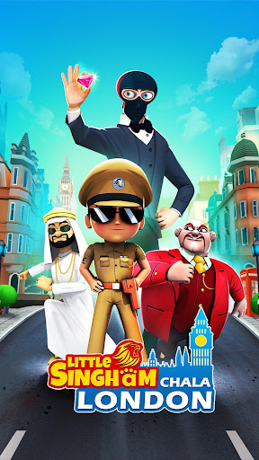 Download Little Singham - No 1 Runner APK for Android - Walls wd