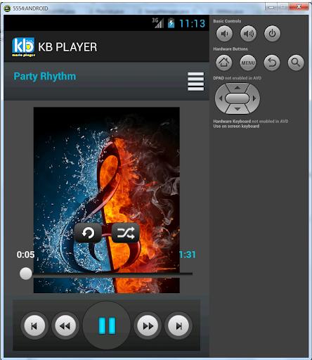 KB Music Player