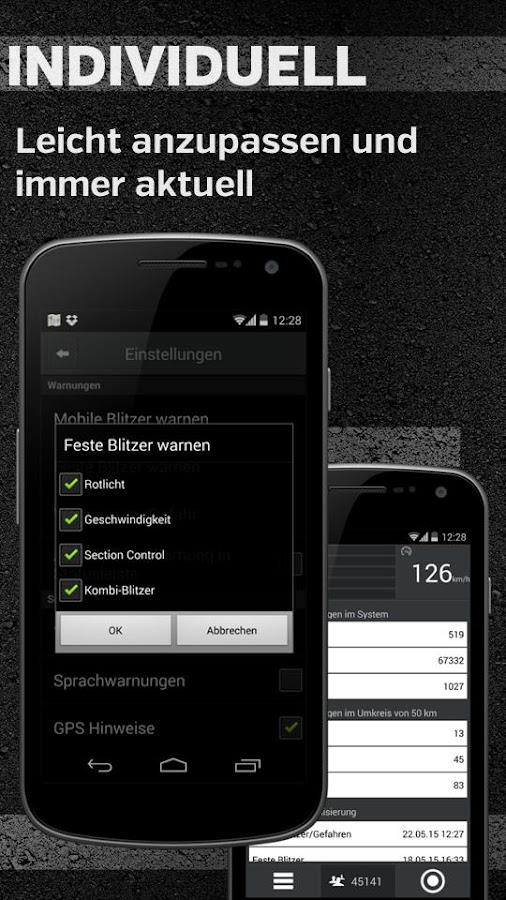 Blitzer.de- screenshot