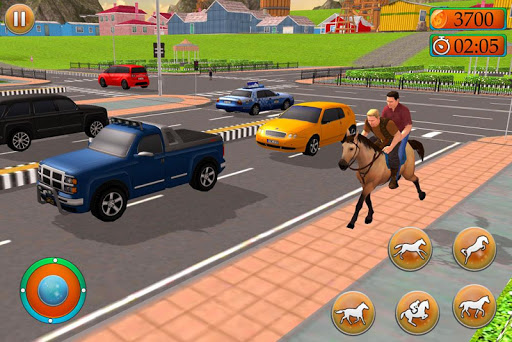 Offroad Horse Taxi Driver u2013 Passenger Transport 2.0.147 screenshots 3