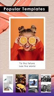 PicsKit - Kostenloser Photo Editor & Collage Maker Screenshot