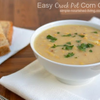 Easy Crock Pot Corn Chowder