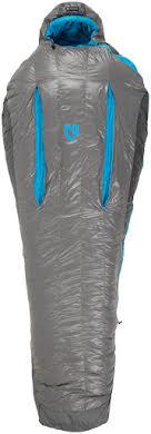 NEMO Kayu, 30, 800-fill DownTek Sleeping Bag, Carbon/Blue Flame, Regular alternate image 4
