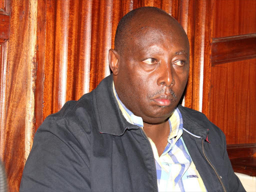 Image result for images of former chief of staff George Wainaina
