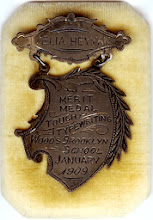 Photo: Celia Heyman Typewriting Medal