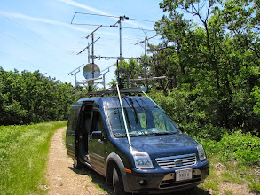 Photo: K8GP / Rover - FM09TF (looking SSW) - ARRL June VHF 2014