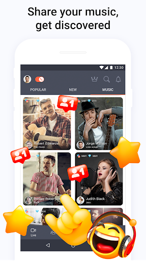 Tango - Live Video Broadcasts and Streaming Chats screenshot 7