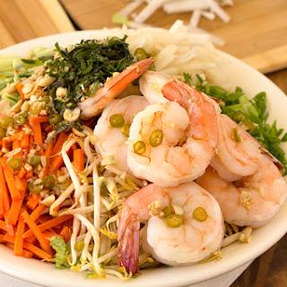 Shrimp Noodle Bowl.