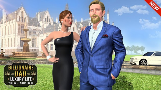Billionaire Dad Luxury Life Real Family Games