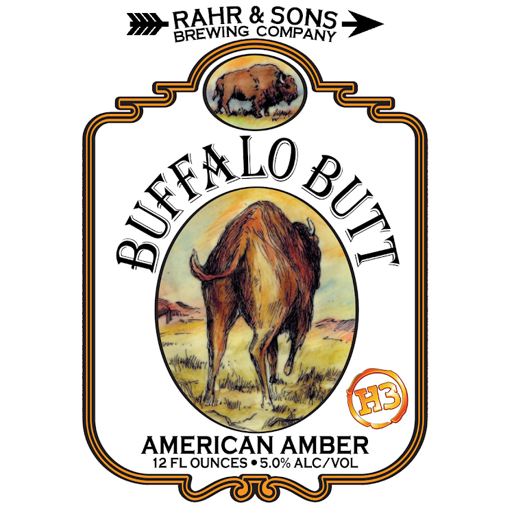Logo of Rahr & Sons Buffalo Butt Lager