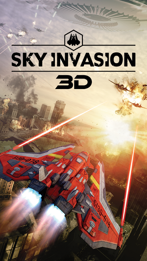 Sky Invasion 3D- screenshot