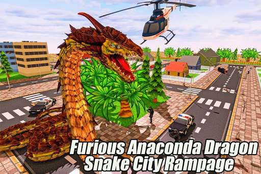 Furious Anaconda Dragon Snake City Rampage 1.0 {cheat|hack|gameplay|apk mod|resources generator} 4