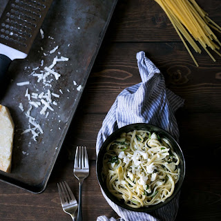 Cheesy Spinach and Artichoke Pasta