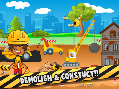 My Pretend Construction Workers - Little Builders - náhled