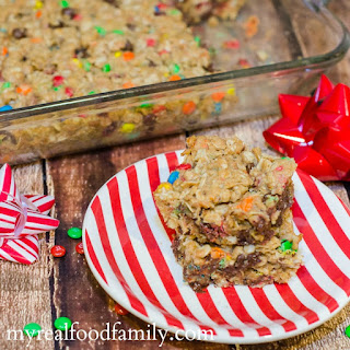 Oatmeal M&M's® Squares