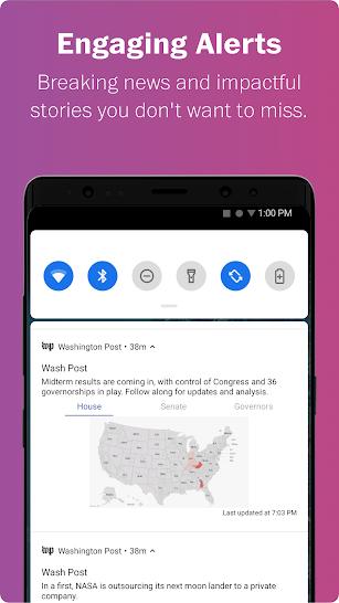 Washington Post Select screenshot for Android