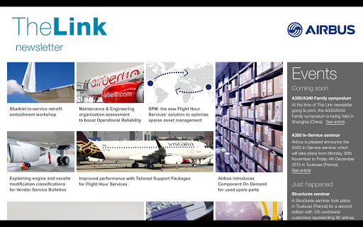 Link Newsletter by Airbus