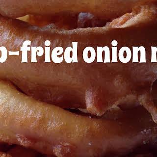 Buttermilk Batter-Fried Onion Rings.