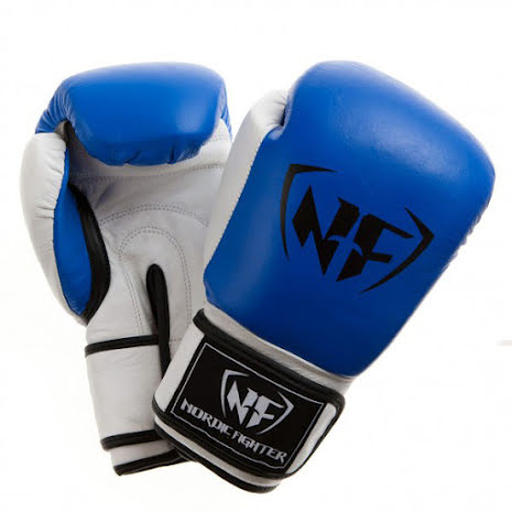 Boxhandske NF Mexican Style Blue/White