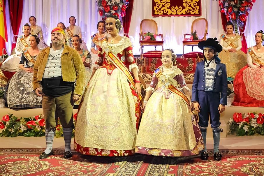 Presentación Falla Maestro Gozalbo - Conde de Altea.