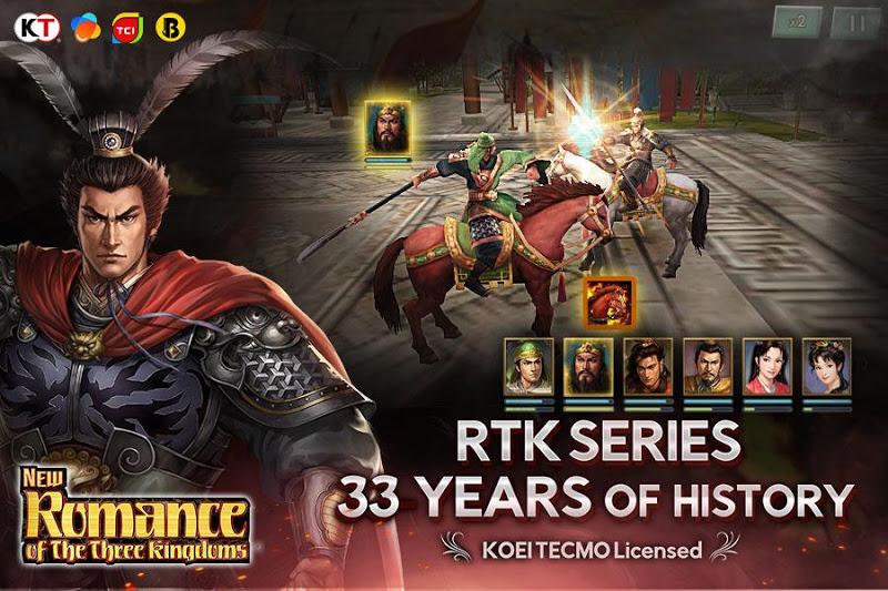 Free Download New Romance of the Three Kingdoms Cheat APK MOD
