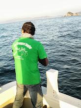 Photo: オープニングヒットは、グリーンの「CRAZY JERK」Tシャツのツジゴーさん! ありがとうございます!