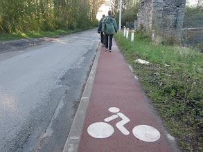 Photo: te voet, niks fiets